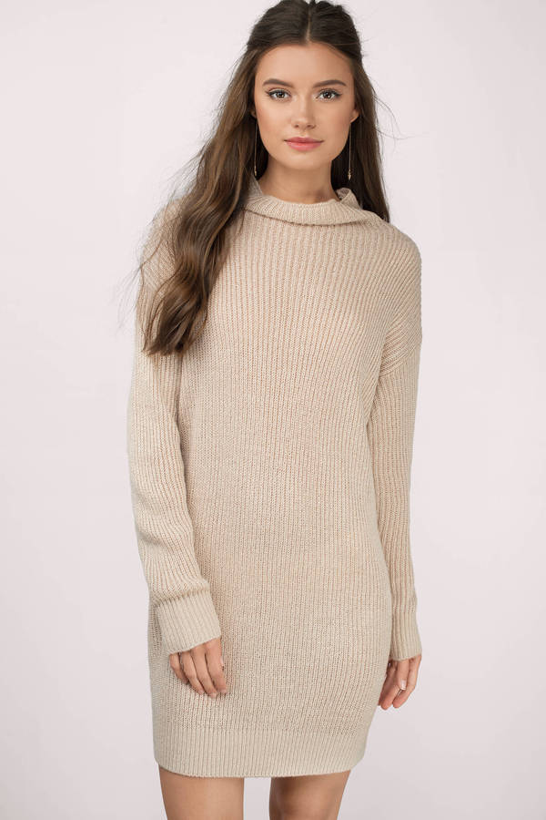 Sweater Dresses for Fall  Oversized &amp Turtlenecks Knit Dresses  Tobi