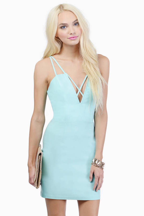 Cross Me Out Dress