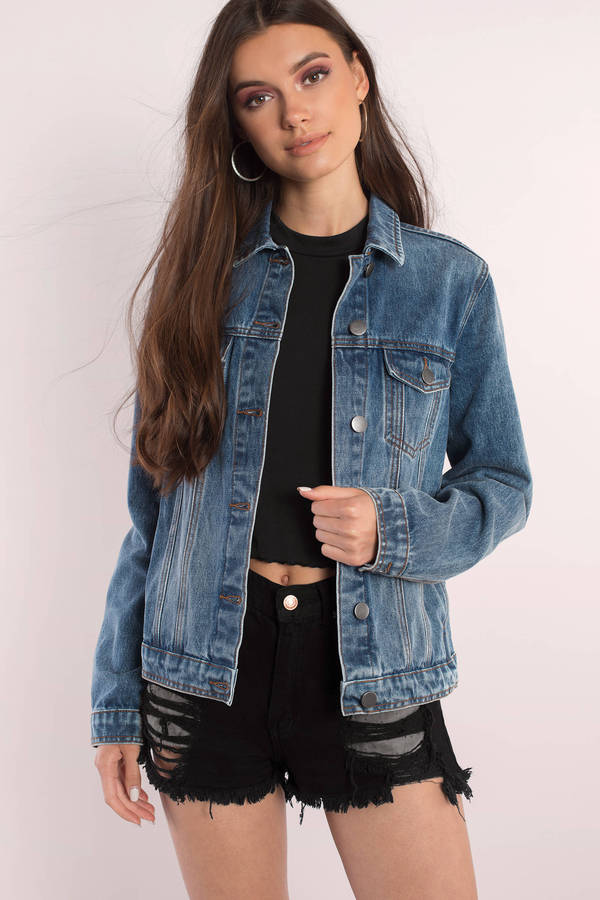 Denim Jackets | Jean Jackets, Denim Jackets For Women | Tobi US