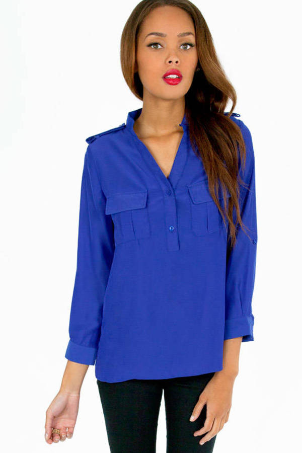 Madelyn Utility Blouse