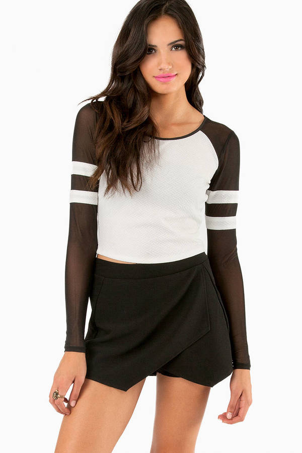 Bases Loaded Crop Top