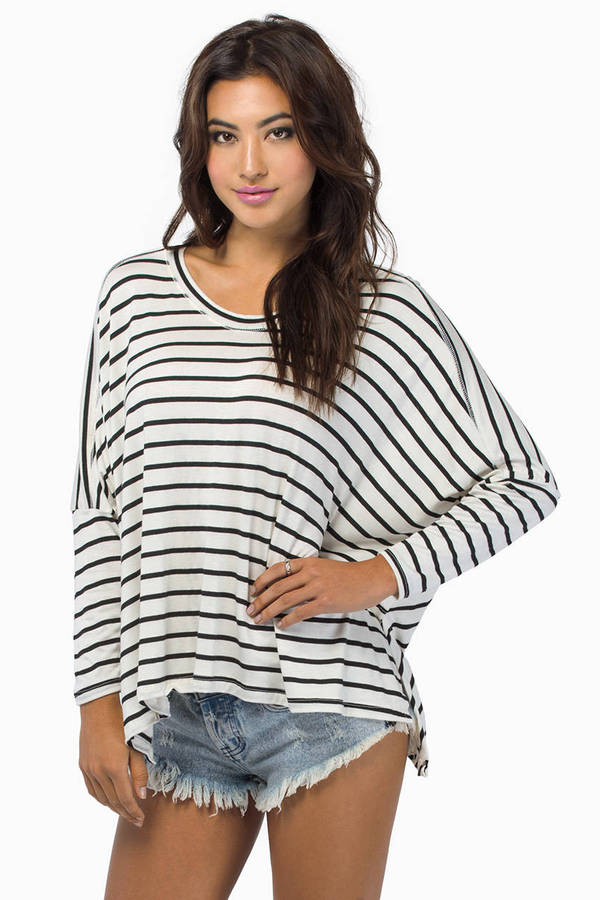 Stripe Across Top