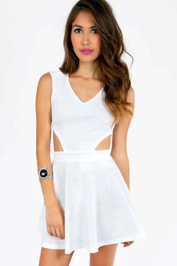 Bossy Side Cut Dress
