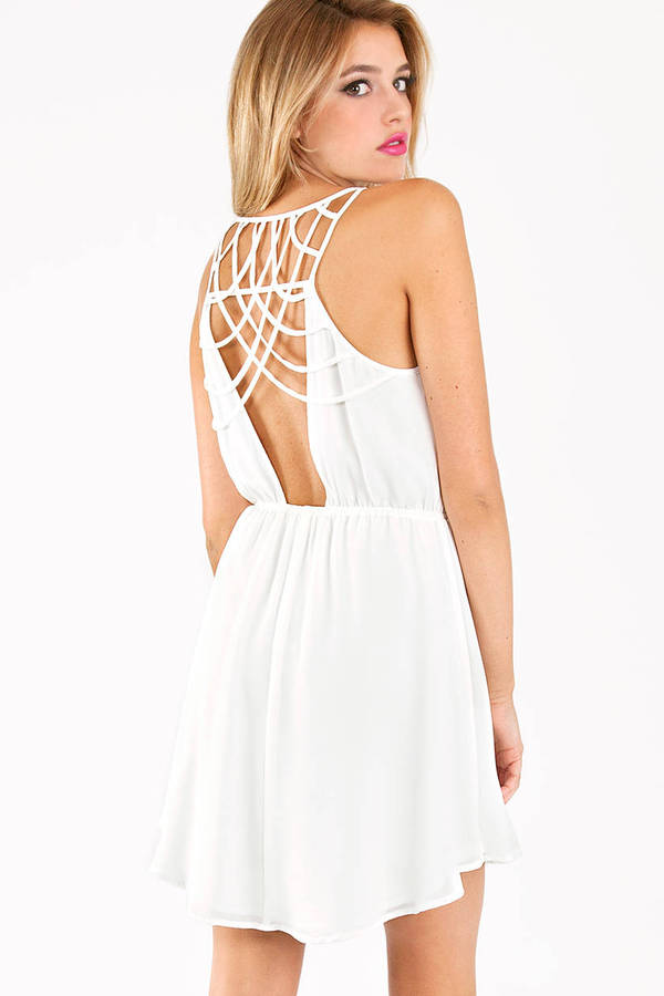 Class in Lattice Dress