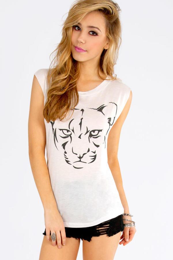 Feline Tank Top