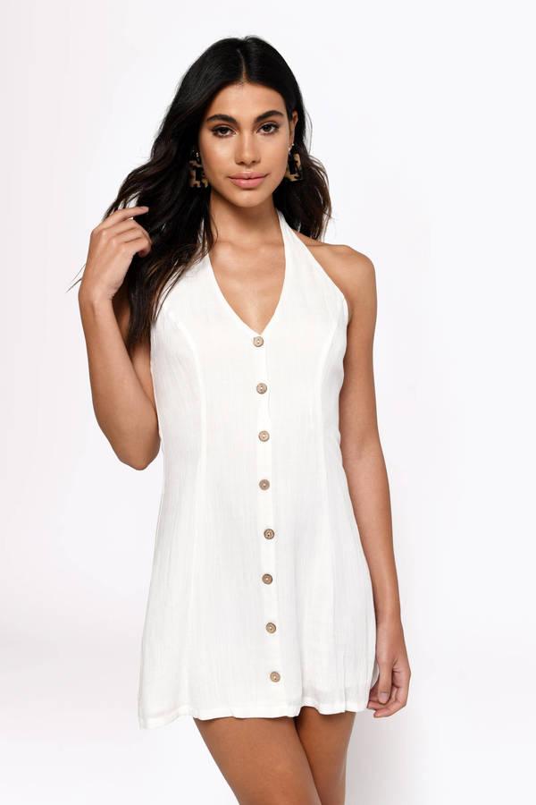 d611ccfefb7b White Dresses | White Lace Dress, Cute Little White Dress | Tobi