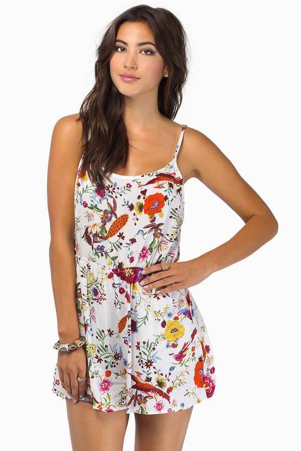 Darling Floral Romper