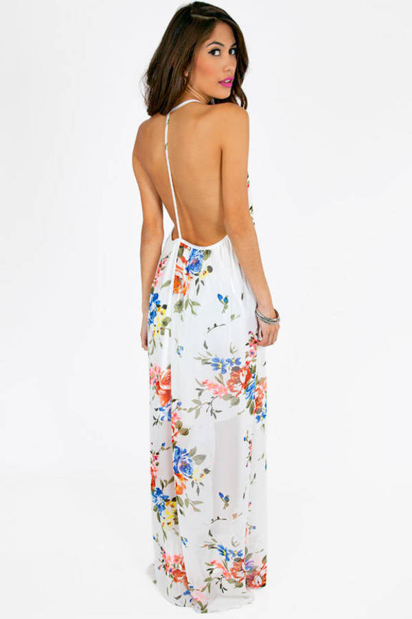 Step Into Spring Maxi Dress