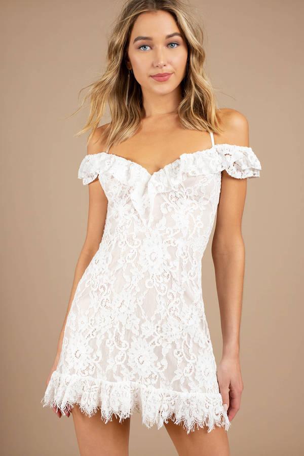 Tight white bodycon dress online