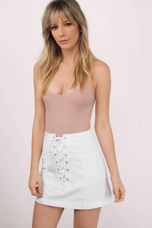 Denim Skirts | Shop Denim Skirts at Tobi