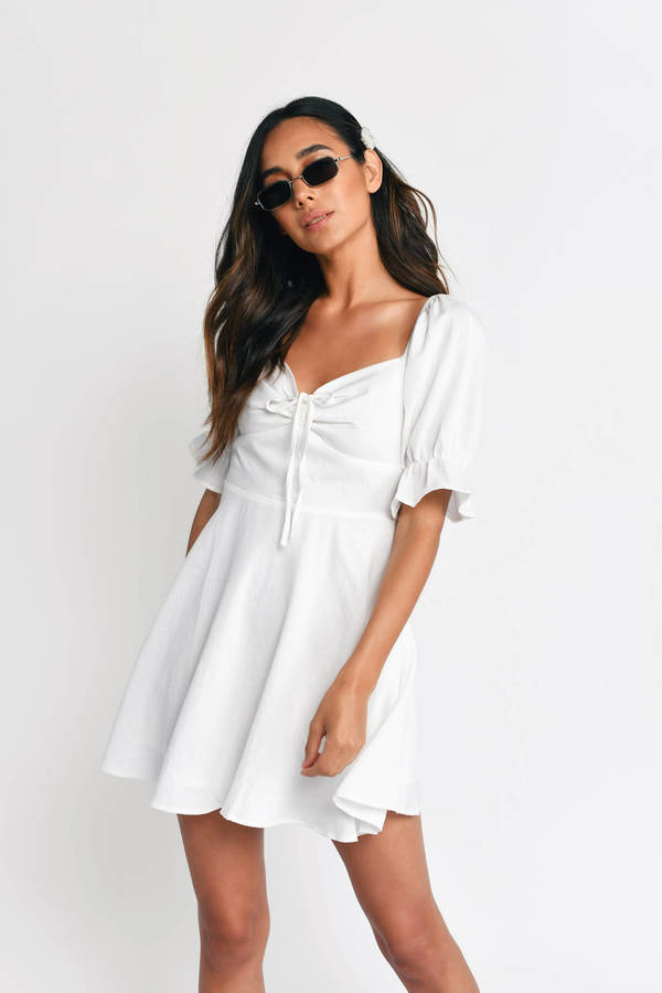 068ce234da27f Graduation Dresses 2019 | Cute White Graduation Dress | Tobi