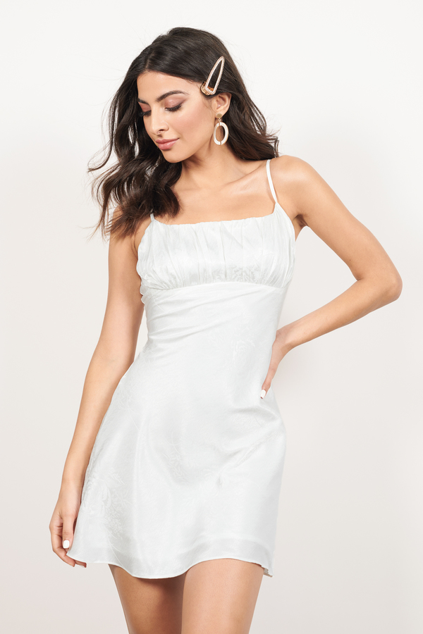 Graduation Dresses 2020 | Cute White Graduation Dress | Tobi