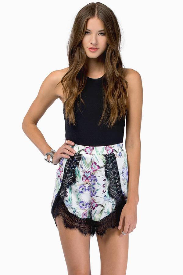 Katie Lace Shorts