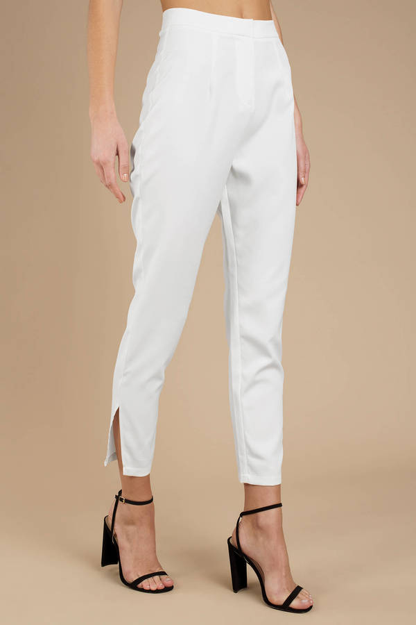 Nice White pants right!