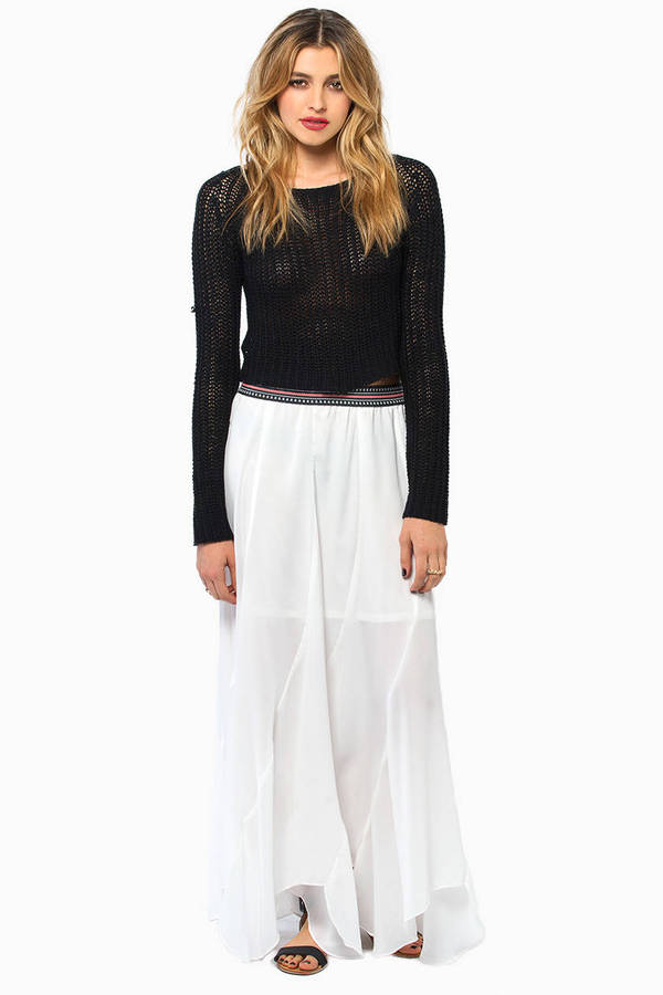 Lady Luxe Maxi Skirt