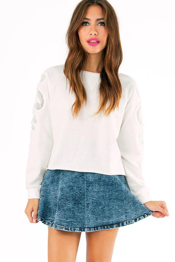 Mesh Well Sweatshirt