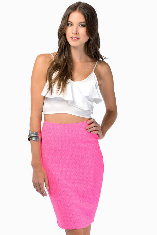 Midnight Wave Crop Top