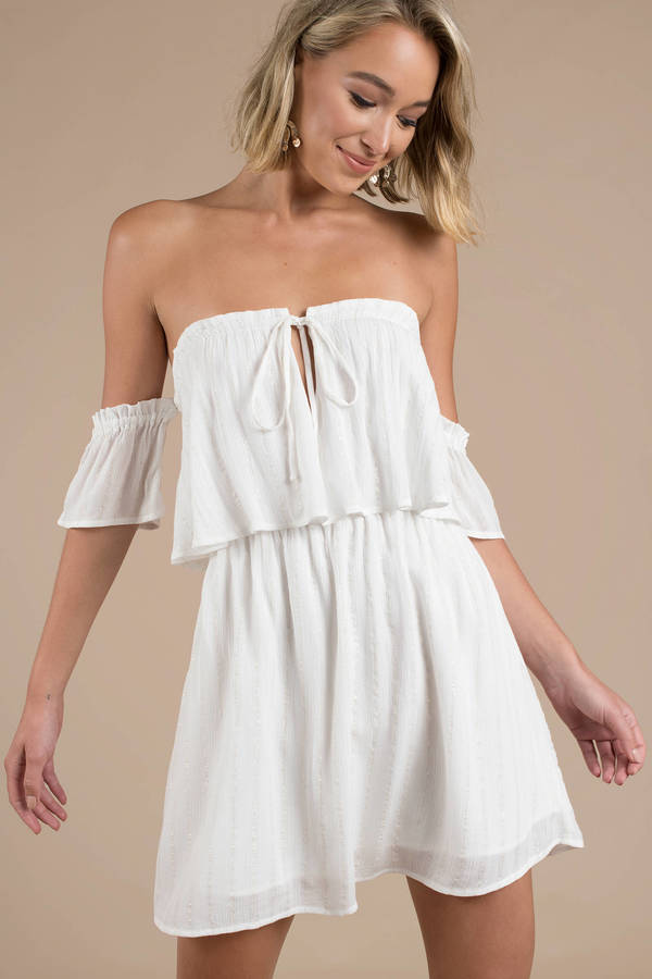 Boho Dresses   Bohemian Dress, White Maxi Dress, Cute & Chic   Tobi