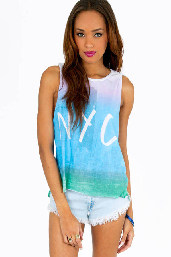 Chaser LA NYC Ombre Tank