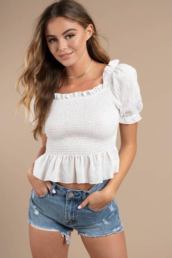 f47fd847 Blouses For Women   Sheer Blouses, Sleeveless Blouses   Tobi CA