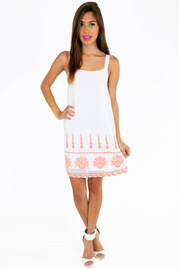 Alicia Embroidered Dress