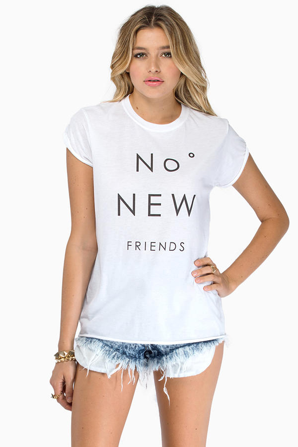 The Laundry Room No New Friends Top