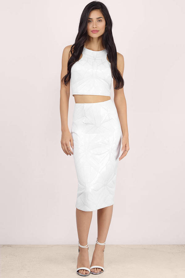 White Skirts | Shop White Skirts at Tobi