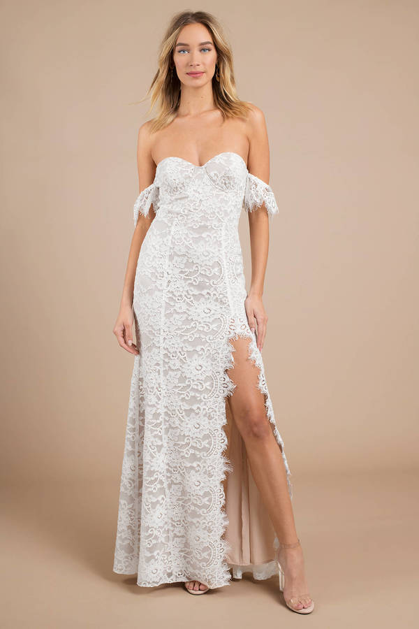 White Maxi Dress for Weddings