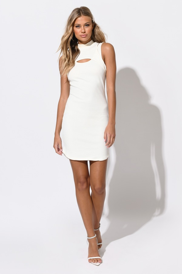 Cut Out Dresses | Side Cut, Low Cut, Lace, White, Black, LBD | Tobi
