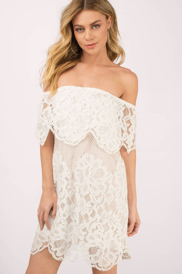 White Dresses For Women | White Maxi Dress, White Lace Dress | Tobi