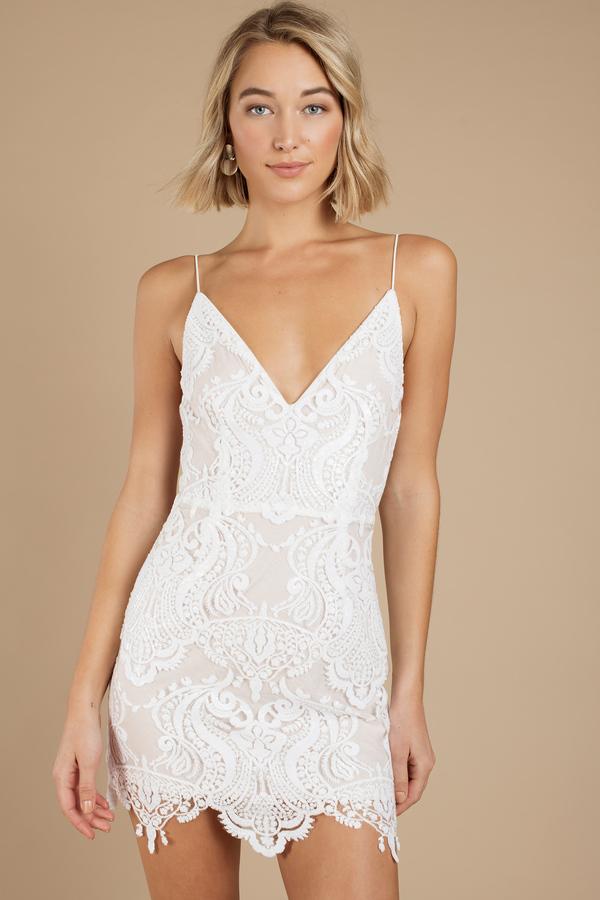 Short Formal Dresses White Shine By Me Sequin Dress