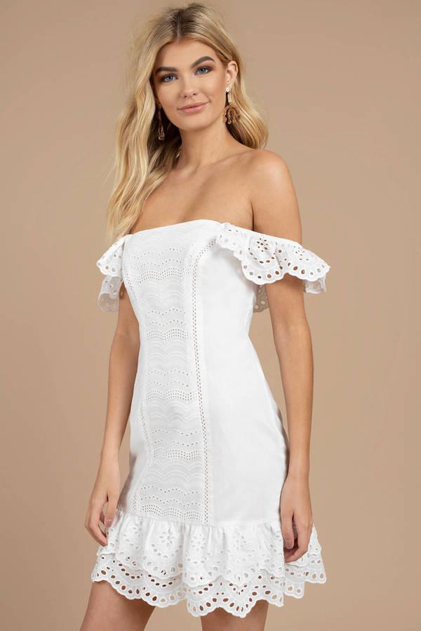 Pretty White Summer Dresses
