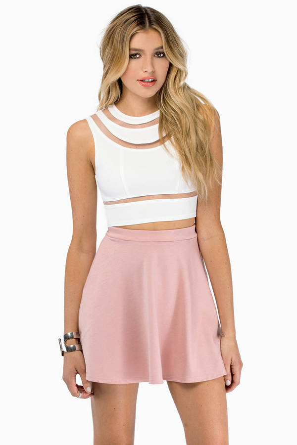 Tegan Cutout Crop Top