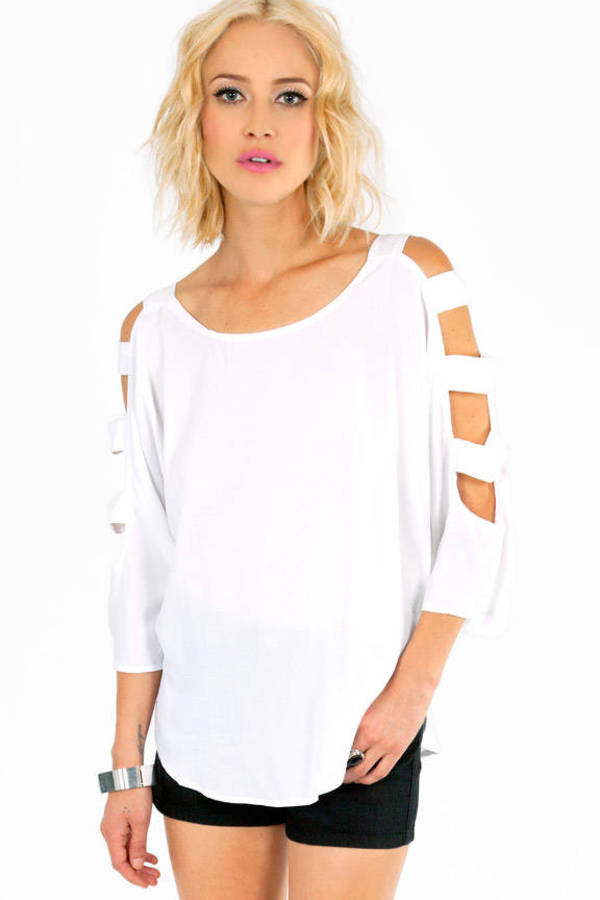 Up The Ladder Sleeve Top