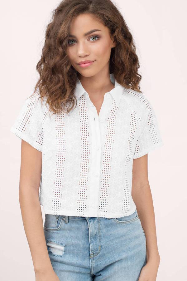 Women's Shirts | Cute Blouses, Black Blouse, Chiffon Shirts | Tobi