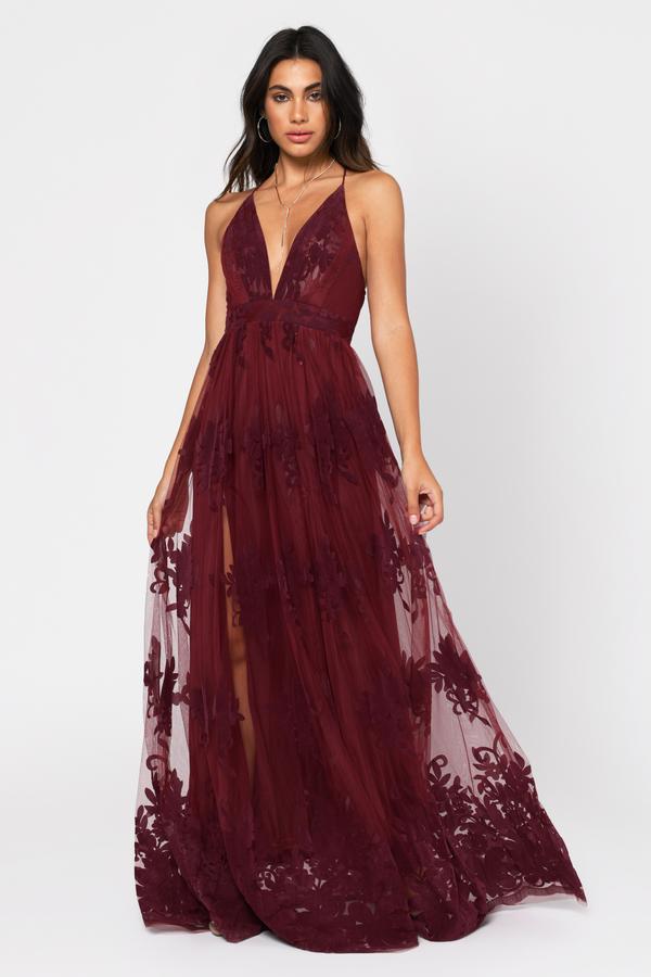Prom Dresses 2018   Simple Prom Dress, Cheap Prom Dresses   Tobi