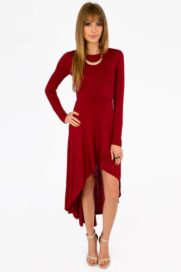 Exmeralda Hi-Low Dress