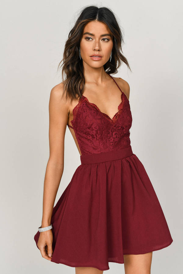 341fe058d09 Red Dresses