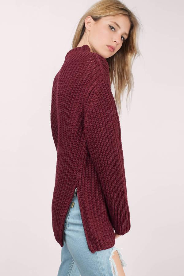 Cute Navy Sweater - Dark Teal Sweater - Navy Sweater - $18 | Tobi US