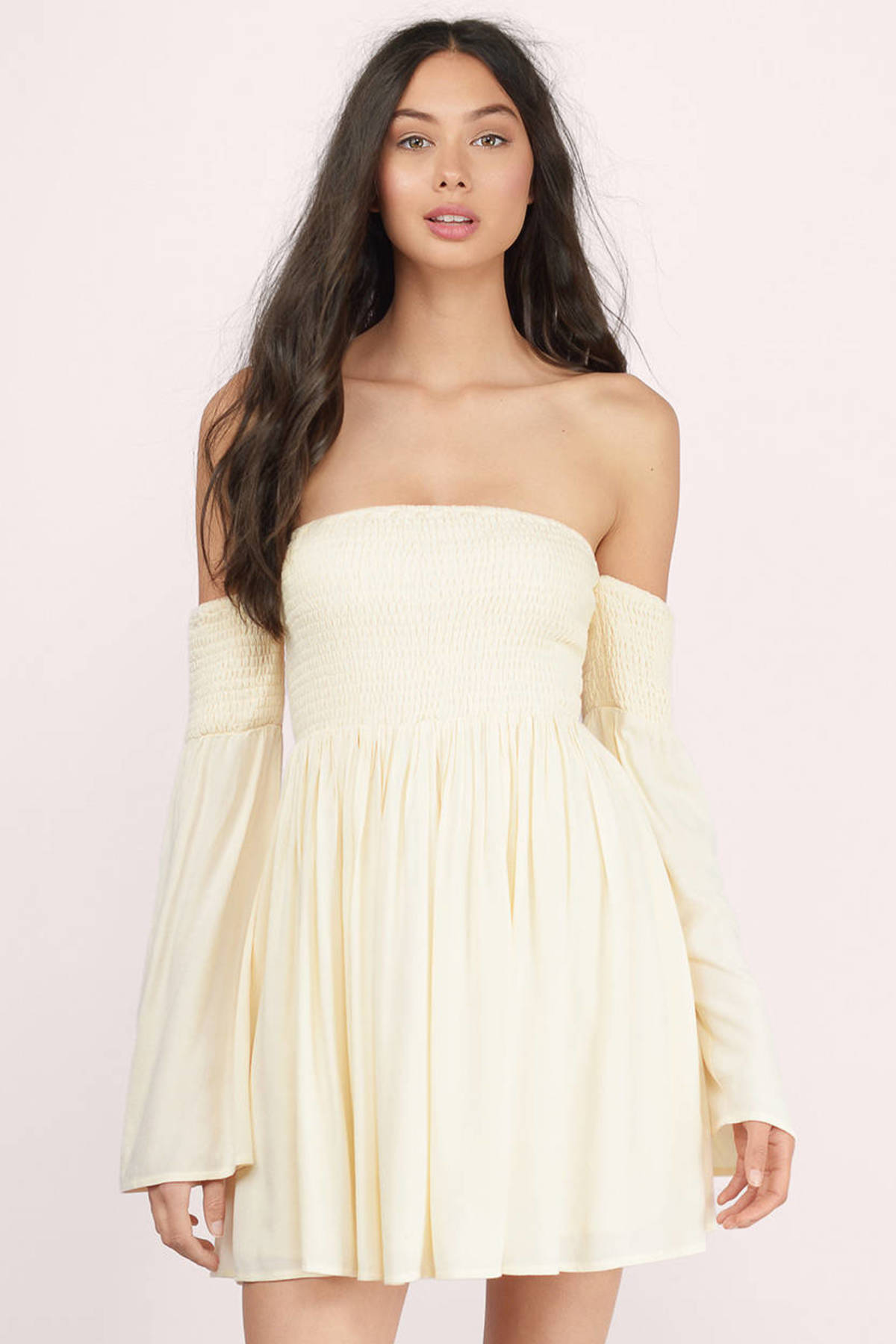yellow and white sundress dress images