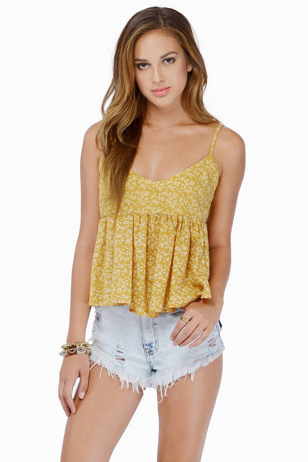 Floating Flower Tank Top