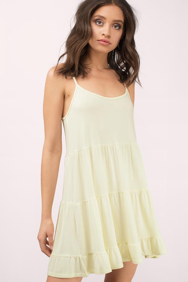 Yellow Dresses | Yellow Sundress, Yellow Lace Dress | Tobi