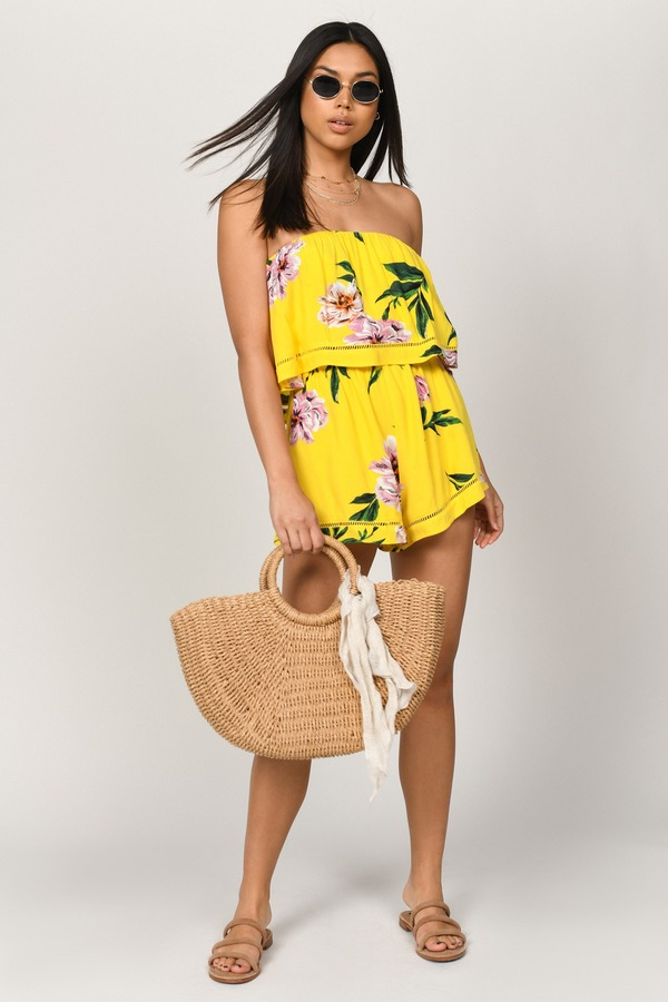 shop for luxury huge inventory clients first Garden Of Eden Floral Romper