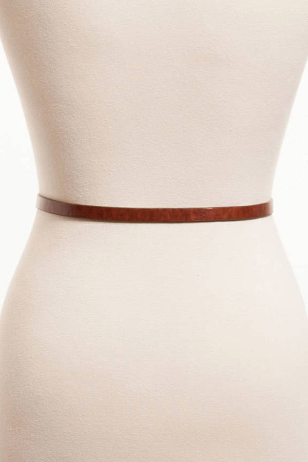 Thin Cross Belt
