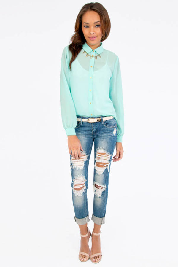 Hearts About Blouse