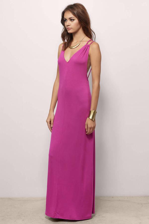 Pink Maxi Dress - Shop Pink Maxi Dress at Tobi