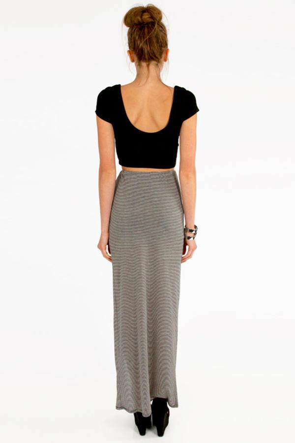 Jolie Striped Skirt