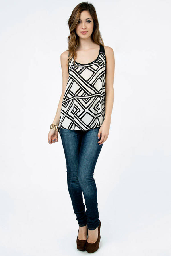Lost Horizon Tank Top