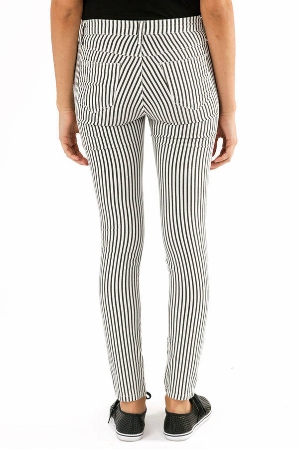 Lizzy Striped Jeggings