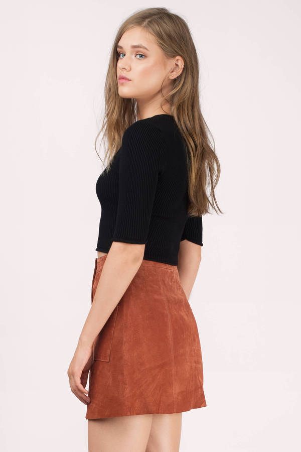 Cropped Sweater & Crop Top Sweaters | Tobi US